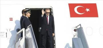 Turkish President embarks on US visit