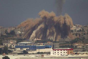İsrailin Qəzzanı bombalaması nəticəsində 10 fələstinli ölüb