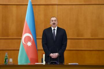 "Azerbaijani President: ""National leader Heydar Aliyev laid the foundation of state-religion relations"""