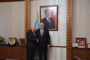 Elmar Mammadyarov met High Representative of the United Nations Alliance of Civilizations, Miguel Ángel Moratinos