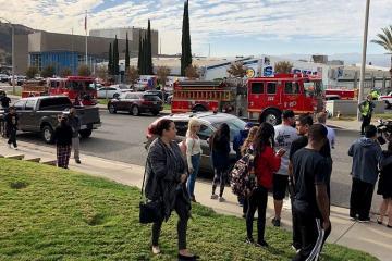 Стрельба в американской школе, есть погибшие