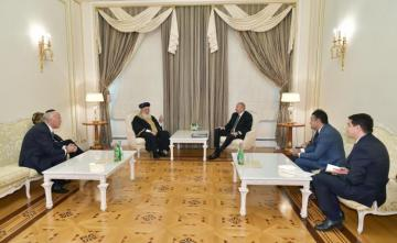 President Ilham Aliyev received Sephardic Chief Rabbi of Jerusalem