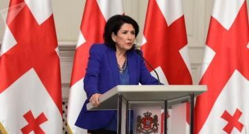 Президент Грузии призвала не обострять ситуацию в стране