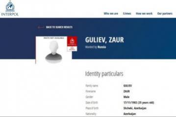 Azerbaijan citizen internationally wanted on charge of assistance to terrorists