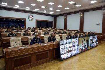 Minister of Defense holds official meeting on the results of the Operational Exercises