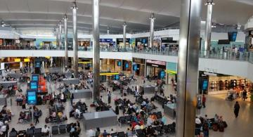 Man arrested at Heathrow airport charged with terrorism offence