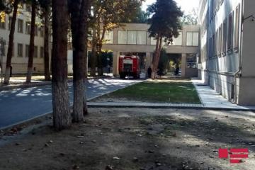 Mingəçevir Şəhər Mərkəzi Xəstəxanasında yanğın olub  - [color=red]FOTO[/color]