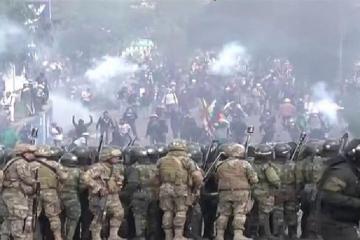 Boliviyanın Koçabamba şəhərində etiraz aksiyaları zamanı ölənlərin sayı 9 nəfərə çatıb