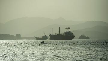 В Южной Корее 11 человек пропали без вести при пожаре на судне