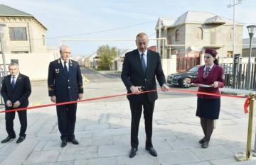 President Ilham Aliyev attended opening of Sabunchu-Pirshaghi line of Baku circular railway after reconstruction