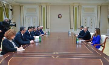 Azerbaijani President receives Bulgarian Interior Minister