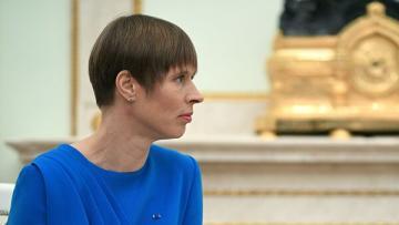 Президент Эстонии назвала Россию самым «трудным партнером»