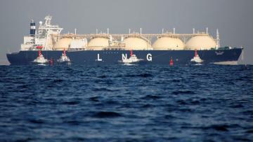США начали поставлять в Украину сжиженный газ