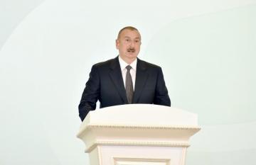 """Prezident İlham Əliyev: """"Gələn il minimum 3 min köçkün ailəsi yeni evlərə köçəcək"""""""