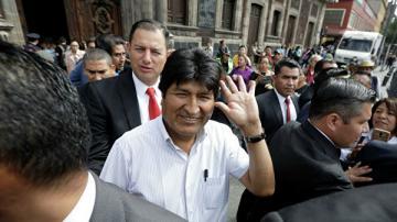 Моралес хочет вернуться в Боливию и ждет гарантий безопасности