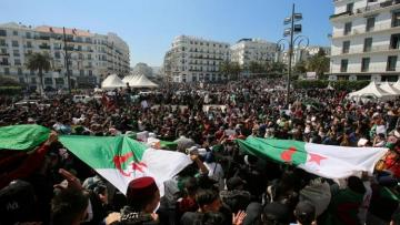 Algerians march again as protests step up before vote