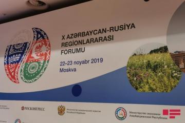 Moscow hosts 10th Russian-Azerbaijan Interregional Forum