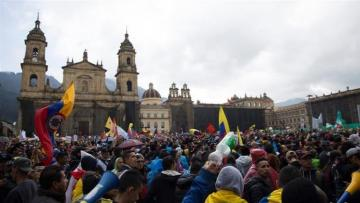Three dead after Colombia protests, tear gas used in renewed confrontations