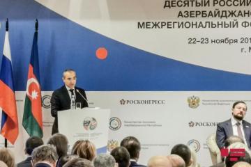 """Mikayil Jabbarov: """"Russia invests USD 5 bln. in Azerbaijani economy"""""""