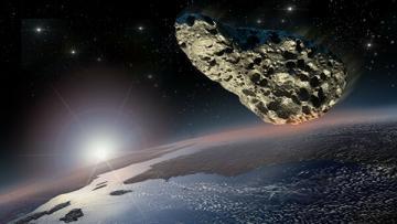 К Земле приближается метеорит