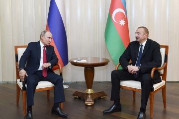 Prezident İlham Əliyev dekabrın 20-də rusiyalı həmkarı ilə görüşəcək