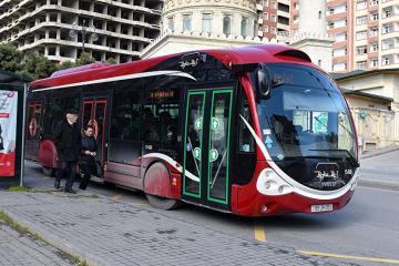 Sürüşmə ilə əlaqədar 125 nömrəli marşrut xəttinin hərəkət sxemi dəyişdirilib