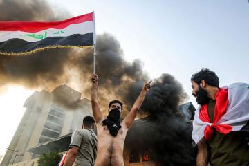 İraqda polislə toqquşmalar zamanı 3 aksiya iştirakçısı öldürülüb