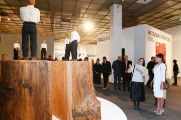 Birinci vitse-prezident Mehriban Əliyeva 8-ci Moskva Beynəlxalq Müasir İncəsənət Bienallesi ilə tanış olub - [color=red]FOTOSESSİYA[/color]