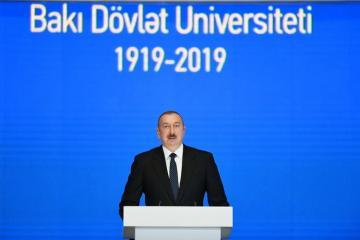 Azərbaycan Prezidenti BDU-nun 100 illiyi münasibətilə keçirilən mərasimdə iştirak edib - [color=red]YENİLƏNİB[/color]
