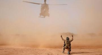 Thirteen French soldiers die as two helicopters collide during anti-terror raid in Mali