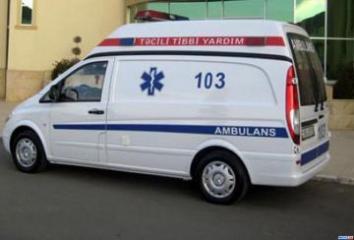 В Баку при ДТП пострадал один из водителей