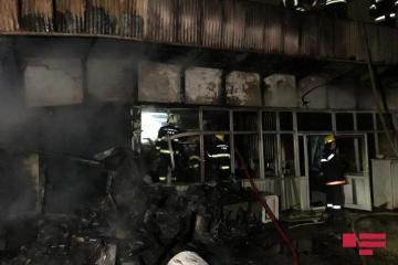 Fire occurs in Sabunchu bazaar - [color=red]PHOTO[/color]
