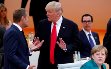 """Tusk: """"Trump is 'perhaps the most difficult challenge' for Europe"""""""