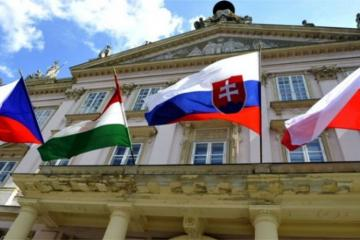 Delegation of Foreign Ministries of Visegrad Group countries is on a visit to Azerbaijan