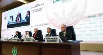 Turkish President Erdogan urges Islamic world to unite