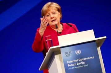 Merkel wants Europe to aim for joint stance on China and 5G