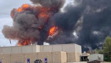 На химзаводе в США погремел второй мощный взрыв