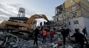 Death toll in Albanian earthquake rises to 35