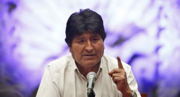 """Ex-Bolivian president Morales says Interpol issued """"blue notice"""" in his regard"""