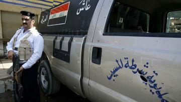 Около 50 полицейских пострадали в столкновениях в Ираке