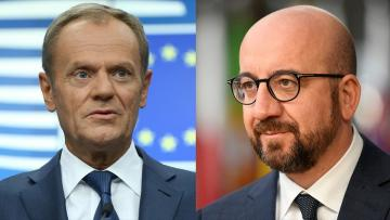 Donald Tusk hands over EU Council Presidency to Charles Michel