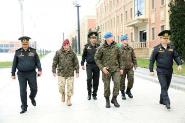 Delegation of the Armed Forces of Poland visit Azerbaijan