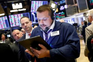 Apple and Microsoft push Wall Street higher as trade worries abate