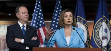 Pelosi and Schiff issue stern warning over Trump impeachment inquiry - [color=red]VİDEO[/color]