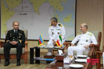 Azərbaycanla İran arasında hərbi dəniz qüvvələrinin əməkdaşlıq məsələləri müzakirə olunub