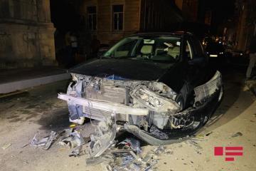 В Баку произошла цепная авария - [color=red]ФОТО[/color] - [color=red]ВИДЕО[/color]