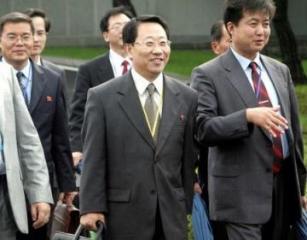 A North Korean delegation has landed in Sweden for talks with U.S.