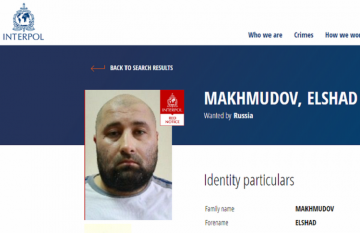 Russia puts Azerbaijani man on Interpol wanted list on terror charges