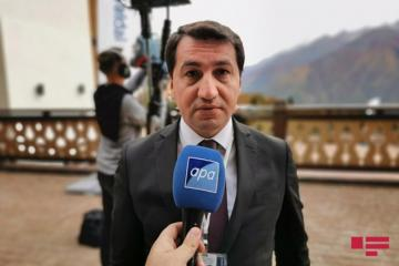 """Hikmat Hajiyev: """"Nagorno Karabakh conflict discussed in the meeting of Presidents of Azerbaijan and Russia""""  - [color=red]INTERVIEW[/color]"""