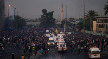 Death toll from unrest in Iraq up to 31 people, almost 1,200 people injured